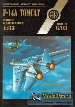 Halinski - Model Kartonowy 6/1993 - F-14A Tomcat