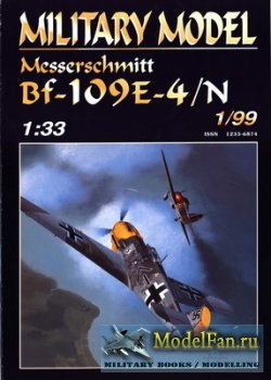 Halinski - Military Model 1/1999 - Messerschmitt Bf-109E-4/N