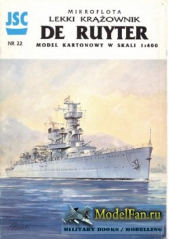 JSC 022 - Light Cruiser De Ruyter