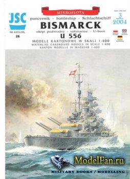 JSC 028 - Bismarck, U 556