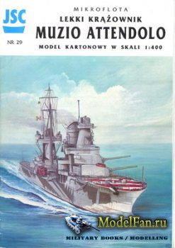 JSC 029 - Light Cruiser RN Muzio Attendolo