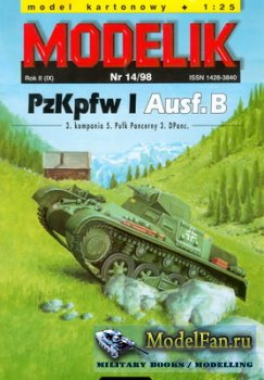 Modelik 14/1998 - PzKpfw I Ausf.B