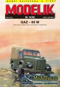 Modelik 16/1998 - GAZ-69 M
