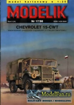 Modelik 17/1998 - Chevrolet 15-CWT
