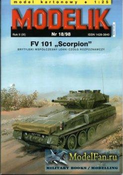 Modelik 18/1998 - FV 101 ''Scorpion''