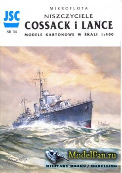 JSC 034 - Destroyers ORP Cossack & Lance