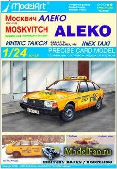 ModelArt - Moskvitch Aleko (Inex Taxi)