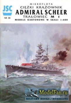 Jsc 036 pocket battleship dkm admiral scheer