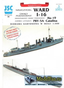 JSC 066 - Destroyer USS Ward DD-139 & Submarine IJN I-16