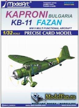 ModelArt - Kaproni Bulgarian KB-11 Fazan