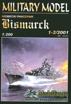 Halinski - Military Model 1-2/2001 - Battleship DKM Bismarck