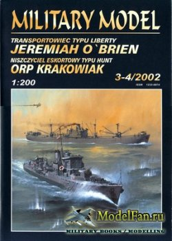 Halinski - Military Model 3-4/2002 - Liberty Ship Jeremiah O'brien & ORP K ...