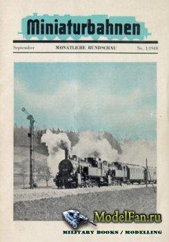 Miniaturbahnen Nr. 1/1948