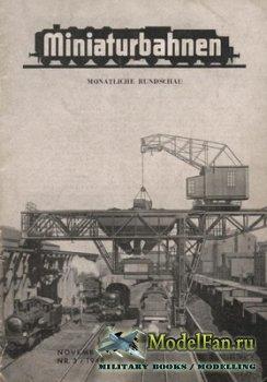 Miniaturbahnen Nr. 3/1948
