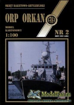 Halinski - Model Kartonowy 2/1991 - ORP Orkan