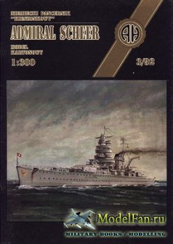 Halinski - Model Kartonowy 3/1992 - Admiral Scheer