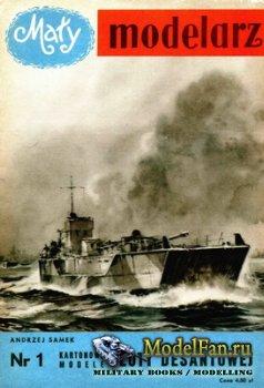 Maly Modelarz №1 (1/1957) - Floty Desantowej