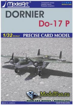 ModelArt - Dornier Do-17 P (German/Bulgarian)