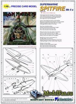ModelArt - Spitfire Mk.IIA Iron Maiden
