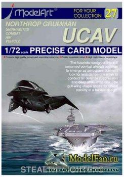 ModelArt - Northrop Grumman UCAV Stealth Fighter