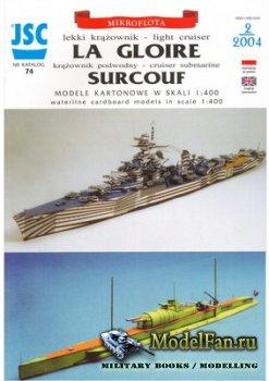 JSC 074 - La Gloire & Surcouf