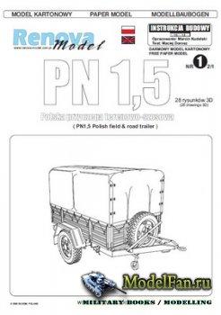 Renova Model - Прицеп PN 1,5