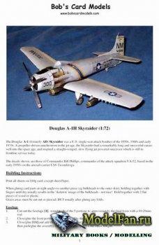 Bob's Card Models - Douglas A-1H Skyraider