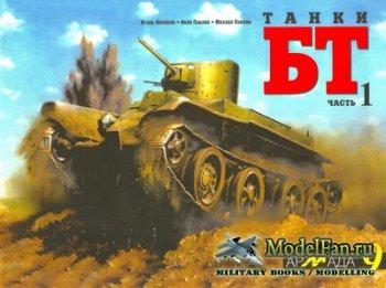 Армада №9 - Танки БТ. Часть 1. «Колесно-гусеничный танк БТ-2»
