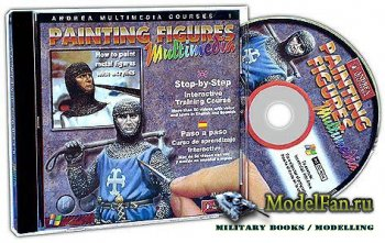 Andrea multimedia CD Courses Painting Figures step-by-step [Обучающие уроки ...