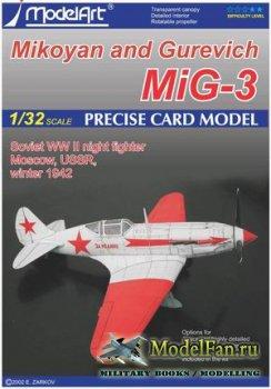 ModelArt - Микоян и Гуревич МиГ-3