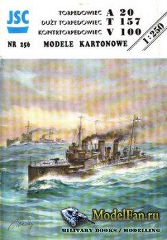 JSC 256 - Torpedo Boat A-20 & T-157 & TB Destroyer V-100