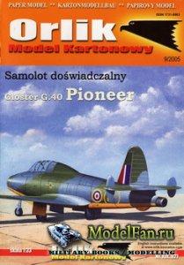 Orlik 021 - Gloster G.40 Pioneer