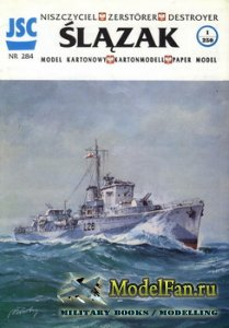 JSC 284 - Destroyer ORP Slazak