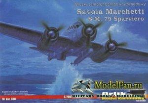 Orlik 038 - Savoia Marchetti S.M. 79 Sparviero