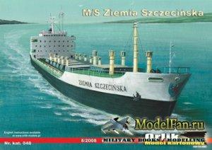 Orlik 048 - Сухогруз M/S Ziemia Szczecinska