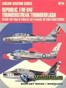 Osprey - Aircam Aviation №14 - Republic F/RF-84F Thunderstreak/Thunderflash