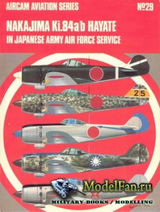 Osprey - Aircam Aviation №29 - Nakajima Ki.84a/b Hayate