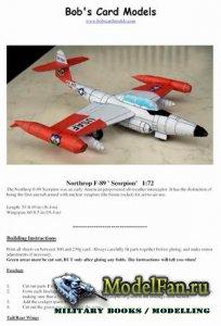 Bob's Card Models - Northrop F-89