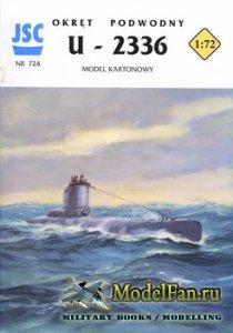 JSC 724 - Submarine U 2336 Type XXI U-Boat