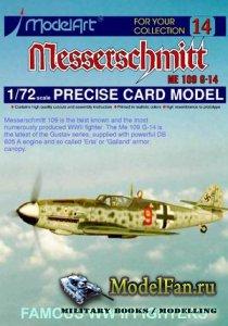 ModelArt - Messerschmitt Bf 109 G-14