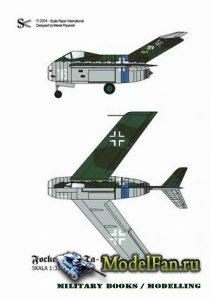 Scale Paper International - Focke Wulf Ta-183