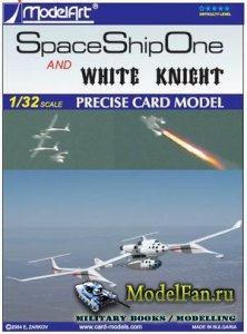 ModelArt - Space ship One and White Knight