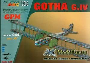 GPM 244 - Gotha G.IV