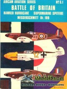 Osprey - Aircam Aviation №S.1 - Battle of Britain. Hawker Hurricane, Superm ...