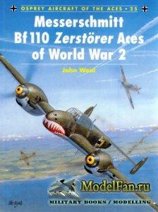Osprey - Aircraft of the Aces 25 - Messerschmitt Bf-110 Zerstorer Aces of W ...