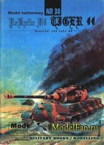 ModelCard №30 - Pz.Kpfw. VI Tiger II Ausf.B