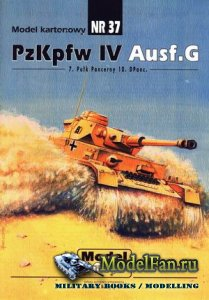 ModelCard №37 - Pz.Kpfw. IV Ausf. G