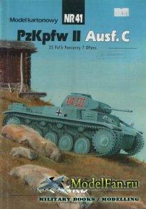 ModelCard №41 - Pz.Kpfw. II Ausf.C