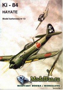 ModelCard №13 - Nakajima Ki-84