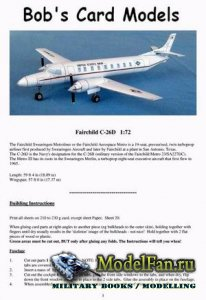 Bob's Card Models - Fairchild C-26D